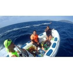 Clase KiteSurf con embarcación
