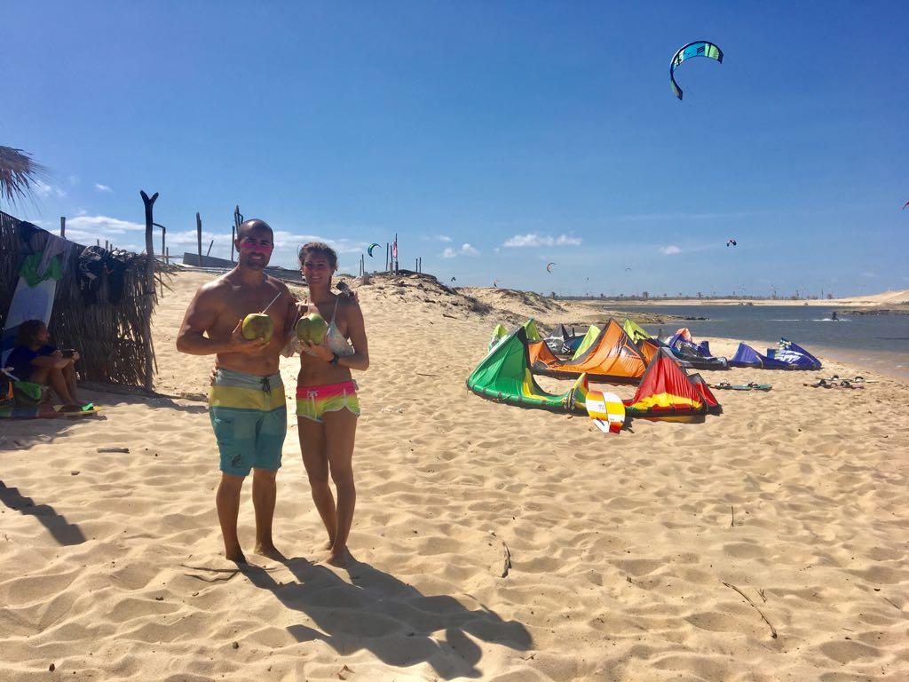 KiteSurf Taiba en Brasil